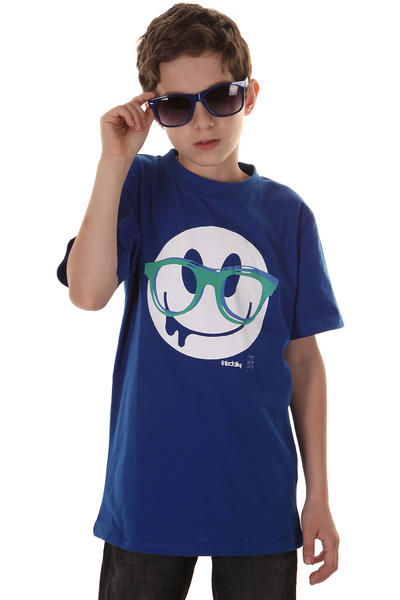 Iriedaily Slimy Smile T-Shirt kids (worker blue)