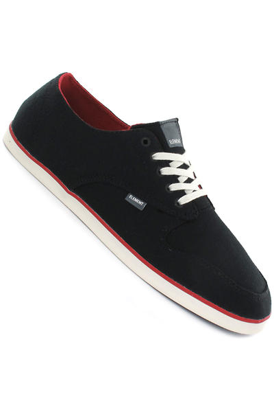 Element Topaz Schuh (black red)