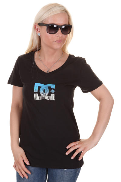DC Worn In Waloo T-Shirt girls (black)