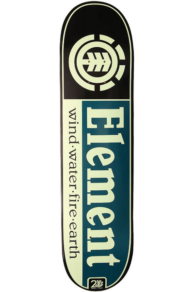 Element Team Section 20 Years 8&quot; Deck (black blue)