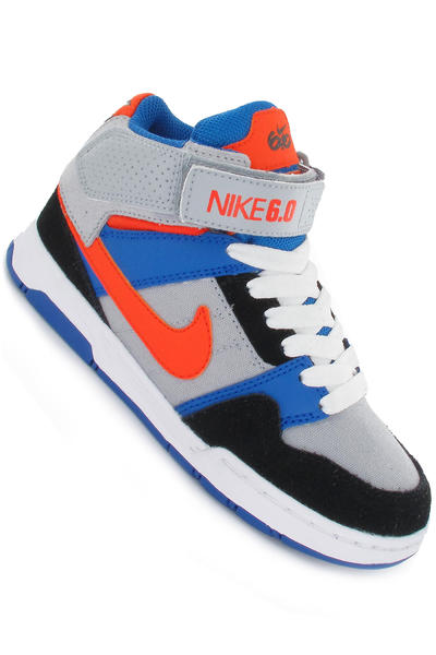 Nike Mogan Mid 2 Schuh kids (wolf grey safety orange black)