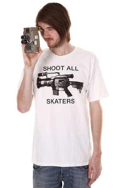 The Berrics Shoot All T-Shirt (white)