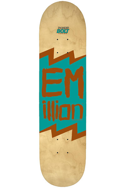 "EMillion Thunderbolt Series 7.625"" Deck (turquoise metallic)"