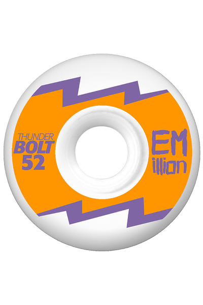 EMillion Thunderbolt Series 52mm Rollen 4er Pack  (neon orange)