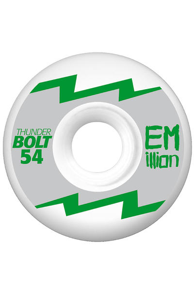 EMillion Thunderbolt Series 54mm Rollen 4er Pack  (silver metallic)