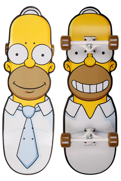 "Santa Cruz x The Simpsons The Homer 10.1"" x 31.7"" Cruiser (white yellow)"