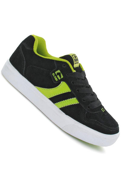 Globe Encore Schuh kids (black lime)