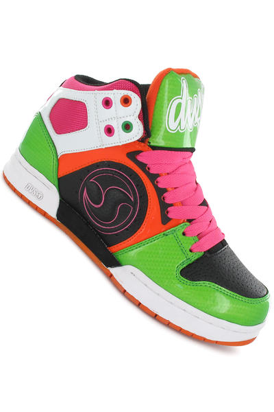 DVS Aces High Leather Shoe girls (pink orange green)
