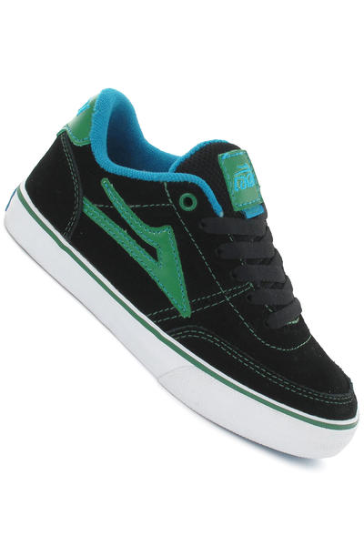 Lakai Encino Suede Shoe kids (black green)