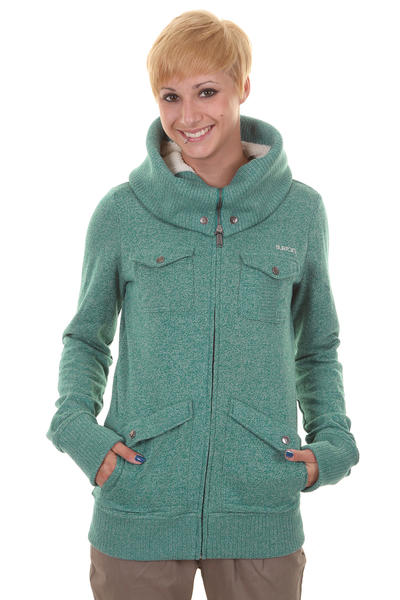 Burton Lovell Zip-Hoodie girls (heather spruce)