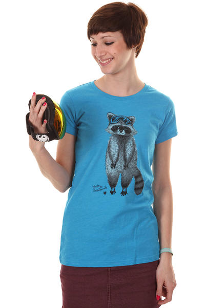 Burton Raccoon T-Shirt girls (heather blu-ray)