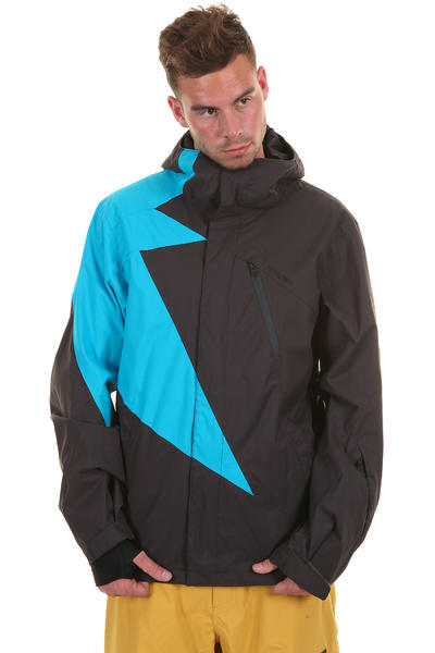 Zimtstern Flash Snowboard Jacke (dark grey blue)