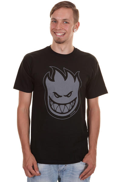 Spitfire Bighead Fill T-Shirt (black grey)