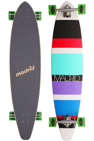 Madrid B2 Stripes 2 42&quot; (107cm) Komplett-Longboard