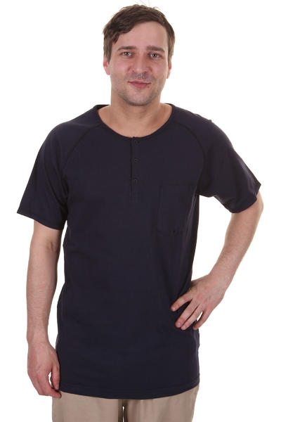 Cleptomanicx Ace T-Shirt (dark navy)