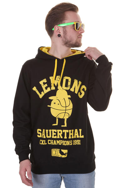 Cleptomanicx Sauerthal Hoodie (black)