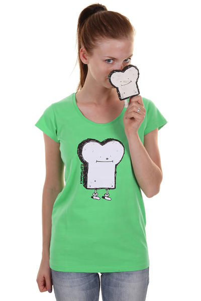 Cleptomanicx Toast Scoop T-Shirt girls (spring bouqet)