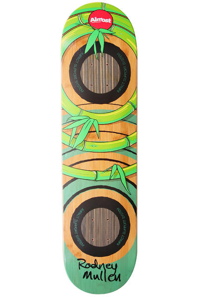 Almost Mullen OG Bamboo Impact 8&quot; Deck (green brown)