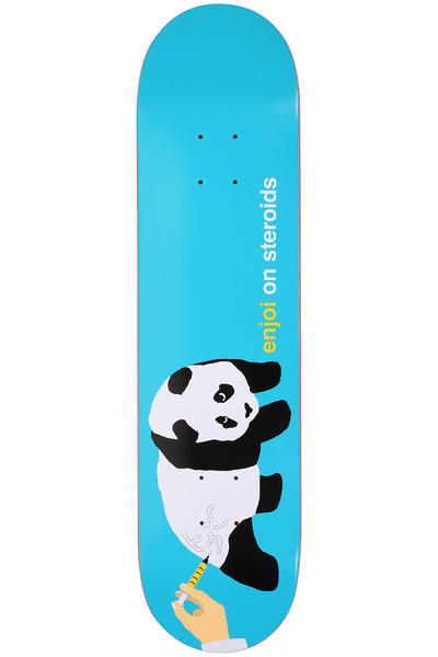 "Enjoi On Steroids 7.75"" Deck (turquoise)"