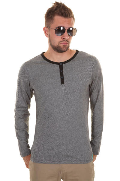 Iriedaily Ringel Henley Longsleeve (black)