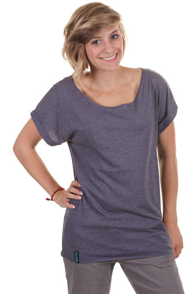 Iriedaily Oversized T-Shirt girls (dark purple melange)