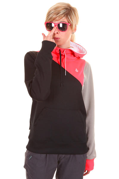 Volcom Avena Fleece Snow Hoodie girls (black)