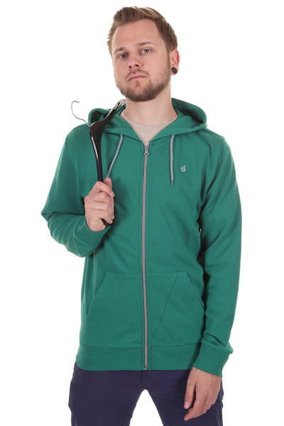 Volcom Icon Slim Zip-Hoodie (blue green)