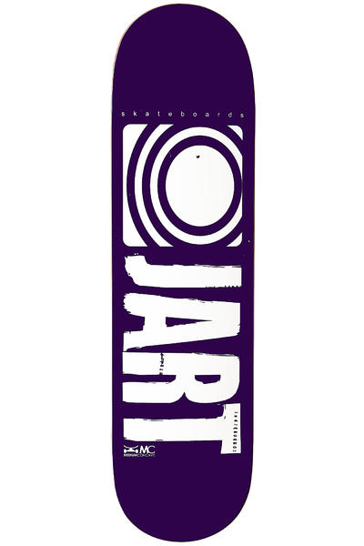 Jart Skateboards Logo Basic SP12 8.375&quot; Deck (purple)