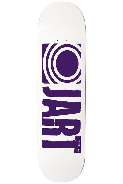 "Jart Skateboards Logo Basic SP12 8.5"" Deck (white)"