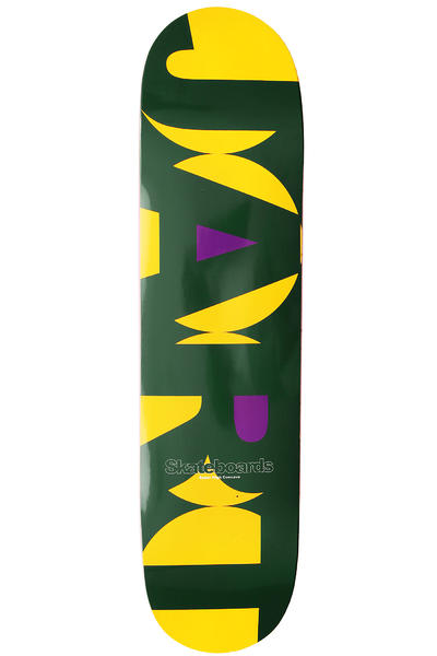 "Jart Skateboards Circle Logo 7.75"" Deck (yellow green)"