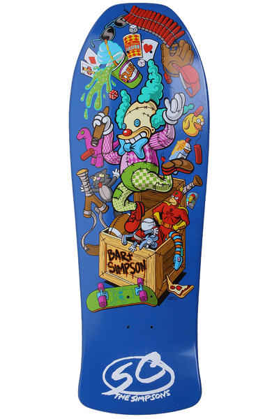 Santa Cruz Simpsons Bart Toybox 10&quot; Deck (multi)