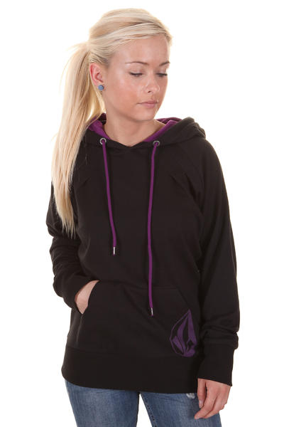 Volcom Back In The Line Hoodie girls (black)