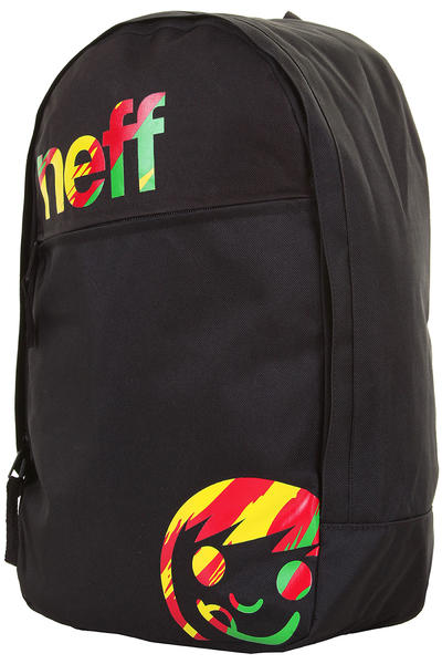 Neff Daily Backpack (black rasta)
