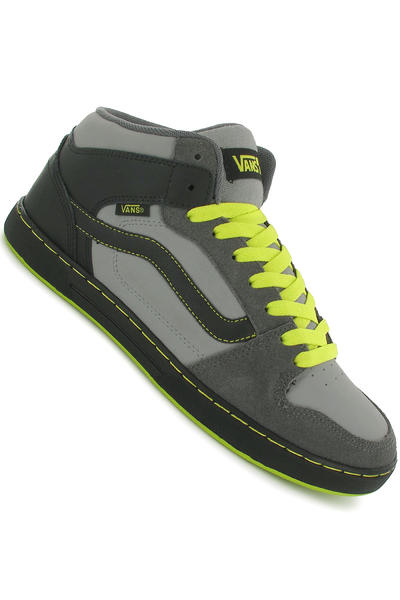 Vans Edgemont Schuh (grey black neon green)