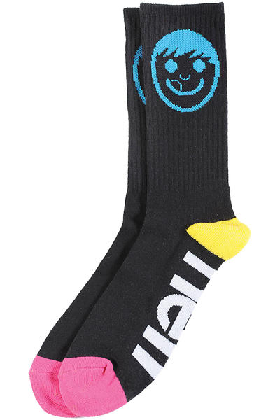 Neff Sucker Crew Socks US 6,5 - 12  (black)