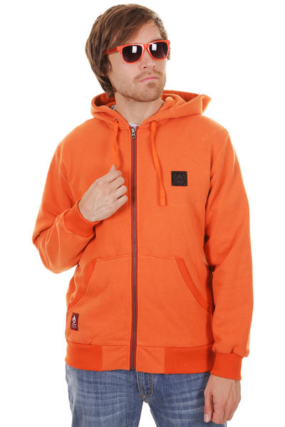Turbokolor Moder Plus Zip-Hoodie (orange)