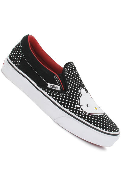 Vans Classic Slip-On Shoe girls (hello kitty black red)
