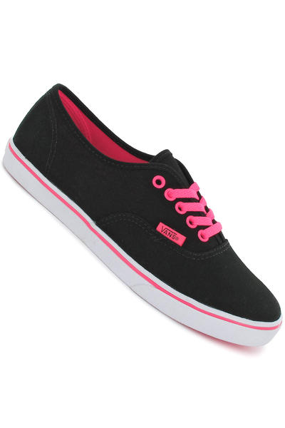 Vans Authentic Lo Pro Schuh girls (neon black pink)