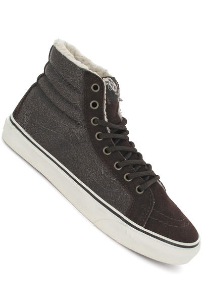 Vans Sk8-Hi Slim Shoe girls (cracked demitasse vanilla ice)