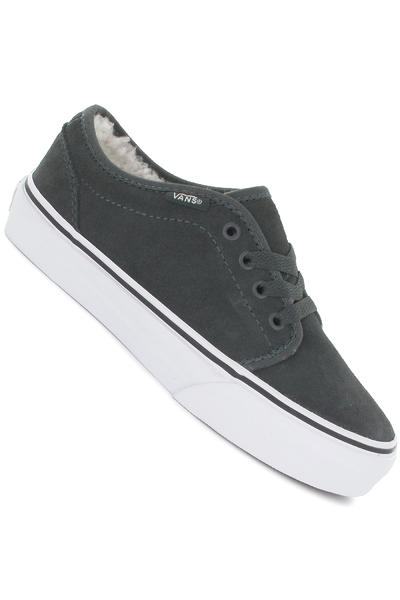 Vans 106 Vulcanized Fleece Shoe kids (dark shadow true white)