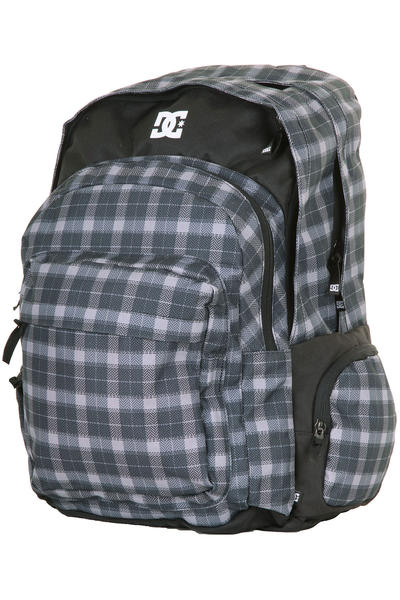DC Backup Rucksack (black plaid)