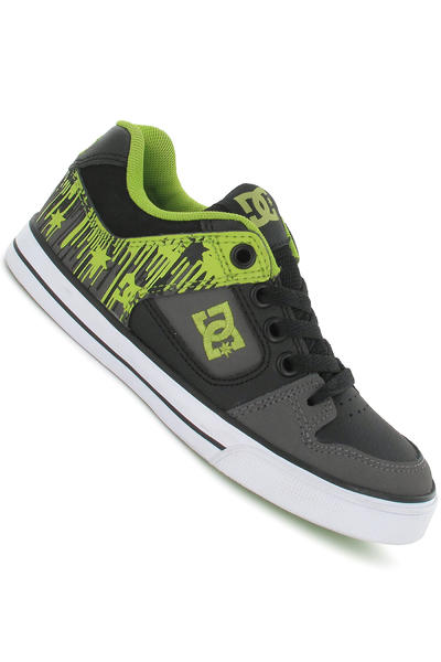 DC Pure Shoe kids (dark grey green)