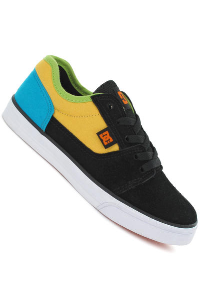 DC Bristol Shoe kids (black yellow turquoise)