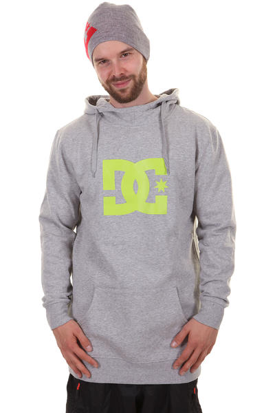 DC Snow Star Snow Hoodie (heather grey)