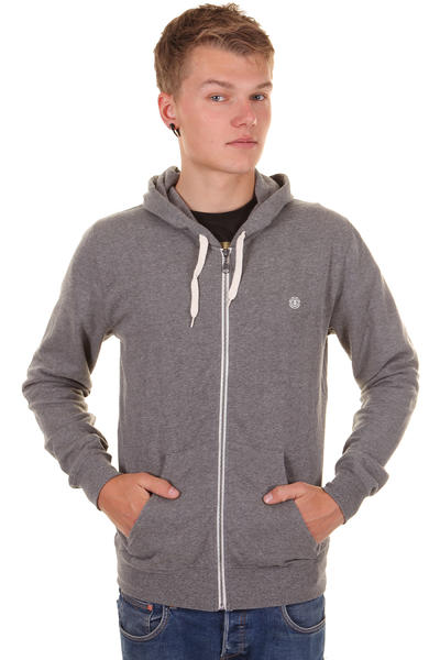 Element Cornell III Zip-Hoodie (grey heather)