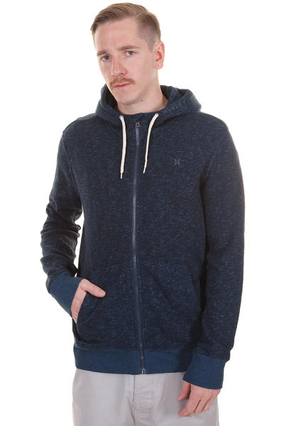Hurley Retreat Zip-Hoodie (heather true navy)