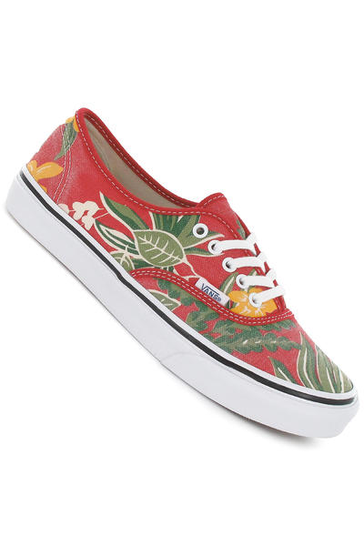 Vans Authentic Slim Schuh girls (red hawaiian)
