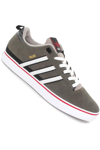 adidas Skateboarding Silas Pro II Schuh (base brown white university red)