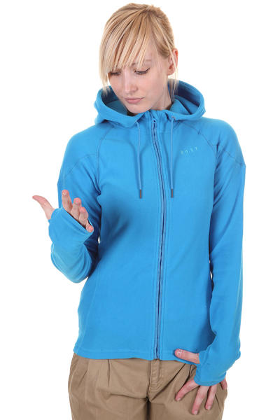 Roxy Night Fall Snow Zip-Hoodie girls (aster blue)