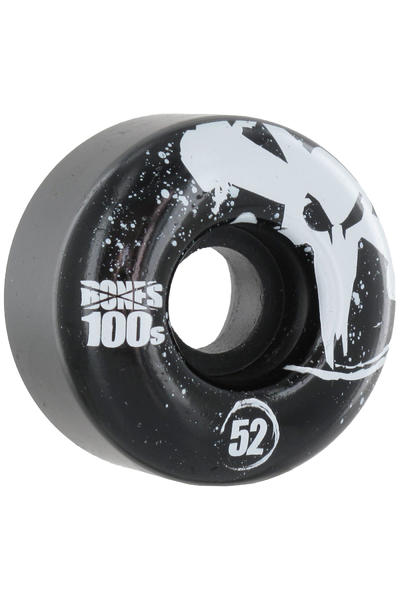 Bones 100's-OG #12 52mm Rollen 4er Pack  (black)